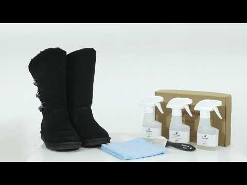 How to care for your Bearpaw Boots | NeverWet Cleaning Kit
