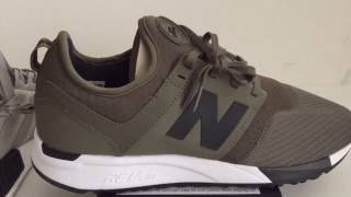Up Close With The New Balance NB 247 Sport Olive Black- The NMD Got Some Challenge