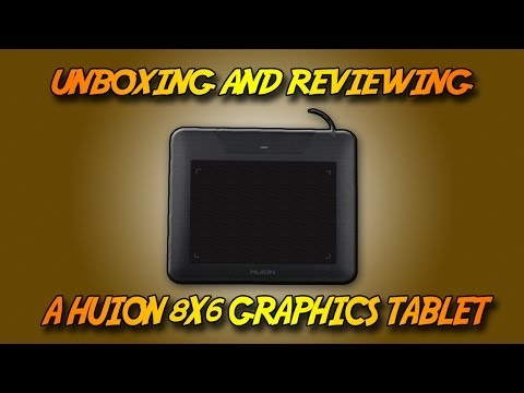 Unboxing and Reviewing a Huion 680s - YouTube