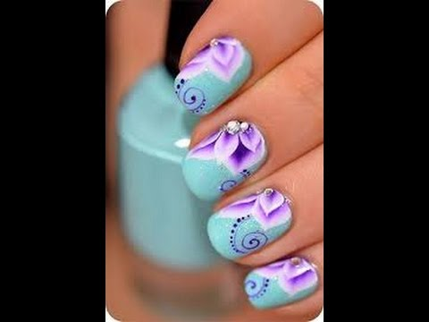 Nail Art Design Step By Step At Home Part 69