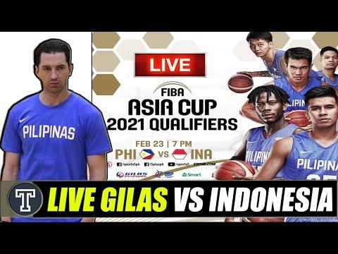 LIVE: Philippines Vs. Indonesia │ FIba Asia Cup 2021 Qualifiers │Updates