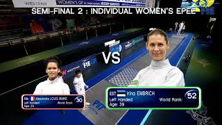 #33 Budapest Women's Epee Grand Prix 2020 // semifinals
