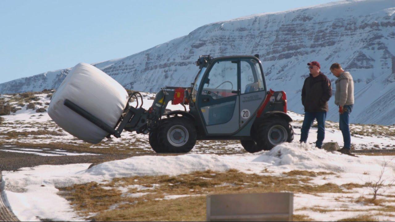 Super Weidemann – Teleskoplader T4512 Einsatz in Island - YouTube #RD_49
