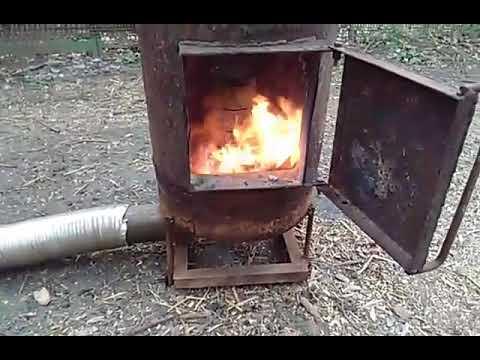 Пеллетная печь
