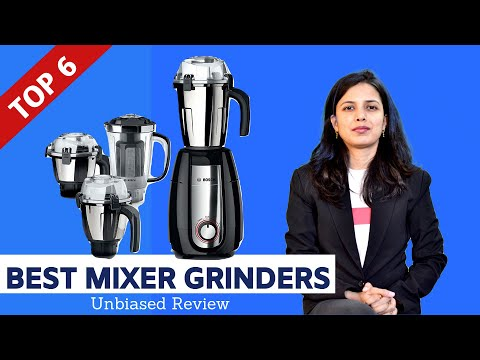 ✅ Top 6: Best Mixer Grinders in India With Price    Mixer Grinder Review and Comparison