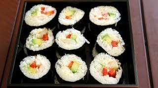 How To Make Sushi Rice - Japanese Recipe - Cookingwithalia - Episode 242