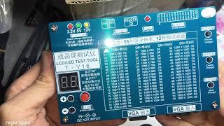 unboxing : LCD/LED Panel Testing Tool tkdmr