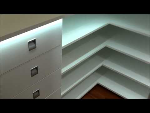 Cabina armadio led light   created by wood design     youtube