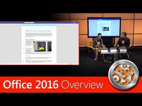 Overview of Office 2016 for Windows