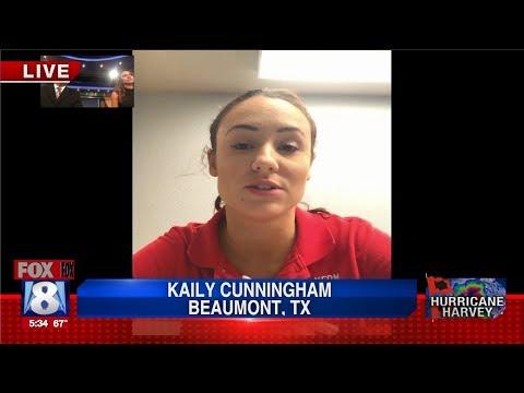Fox 8 News | Kaily Cunningham Live | Beaumont, Texas Floods
