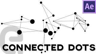 Connected Dots Network Nodes Motion Graphics After Effects Tutorial Script