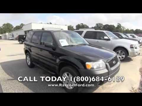 2006 ford escape xlt review car videos leather moonroof 3 0l for sale ravenel ford. Black Bedroom Furniture Sets. Home Design Ideas