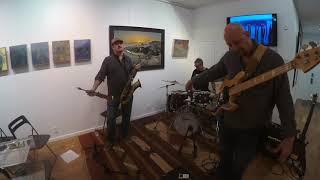 Karl Latham-Drums, Dave Mullen-Sax, Brian Kastan-Electric/Fretless Bass