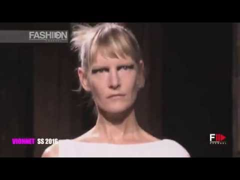 VIONNET Spring 2016 Highlights Paris by Fashion Channel