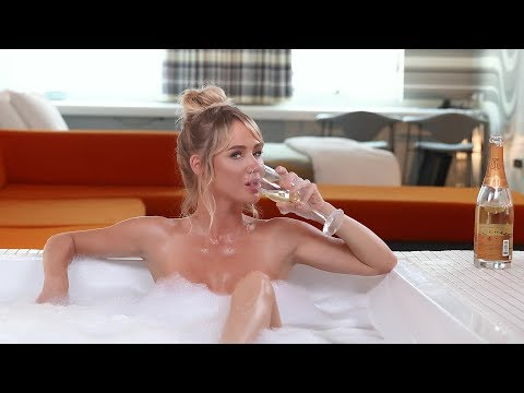 Sara Underwood In A Bubble Bath Explains Penny Stocks