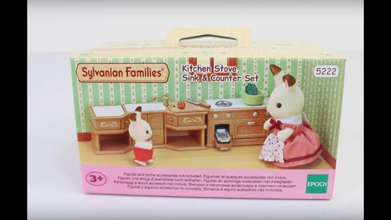Sylvanian Kitchen Review (Sylvanian Families / Calico Critters ...
