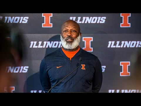 Lovie Smith Press Conference 11/5/18