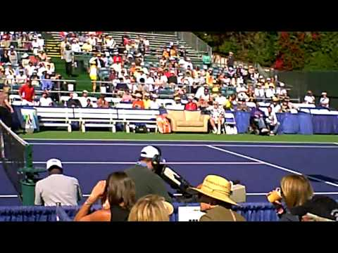 Lawrence (Larry) Goldfarb & Steffi Graf vs. Andre Agassi Esurance Tennis Classic