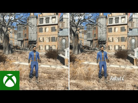 Xbox Series S Backward Compatibility Frame Rate Technical Demo - Fallout 4