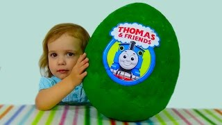 Паровозик Томас и друзья яйцо с сюрпризом / Thomas and friends/ обзор игрушек