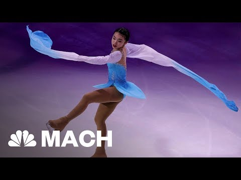 How 2018 USA Olympian Karen Chen Became Figure Skating's 'Quiet Assassin' | Mach | NBC News