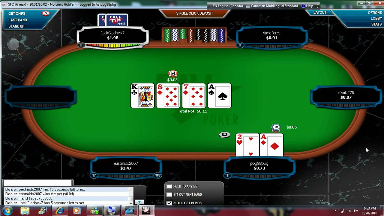 Play Texas Holdem Poker Online