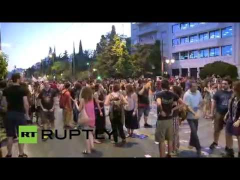 LIVE: Antarsya protesters march through Athens ahead of referendum