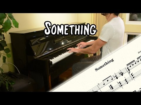 The Beatles - Something (piano cover & free sheet music)