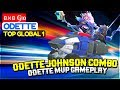 Odette Johnson Explosive Combo  Odette MVP Gameplay         G  o Odette Build