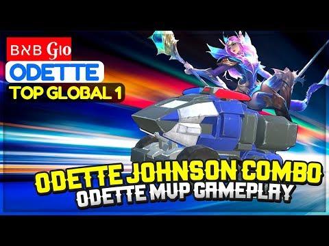 Odette Johnson Explosive Combo, Odette MVP Gameplay [Top Global 1 Odette] ʙאʙ Gιo Odette Build