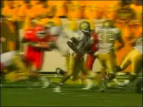 1999 Georgia Tech-Clemson Joe Hamilton to Ed Wilder