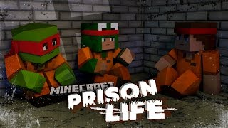 Minecraft Prison Life - WE START A GANG FIGHT IN PRISON!? #2