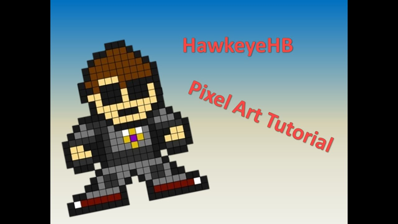 pixel art tutorial 8 bit skydoesminecraft youtube