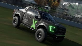 Forza Motorsport 7 FORD Raptor Xbox One X Project Scorpio Edition
