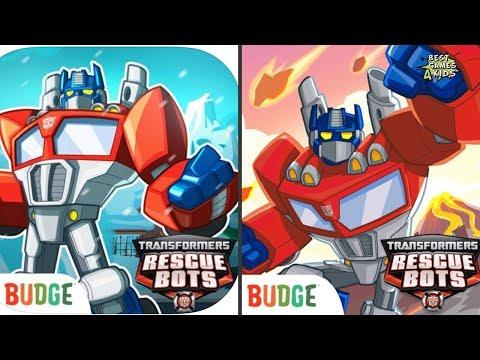 Transformers Rescue Bots: Hero VS Transformers Rescue Bots: Disaster Dash Hero Run