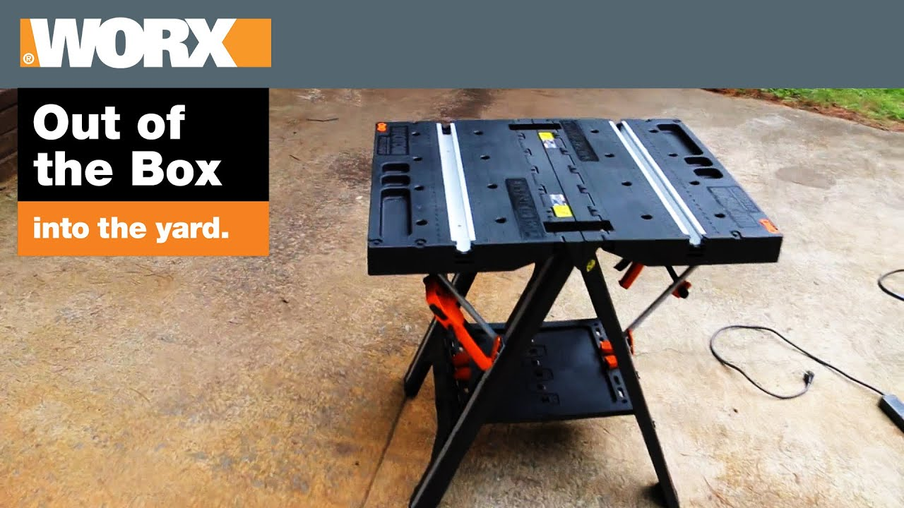Worx Pegasus Sawhorse Review Unboxing Out Of The Box Into The