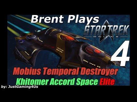 Let's Play Star Trek Online - [Mobius Temporal Destroyer] - [Khitomer Accord Space Elite]