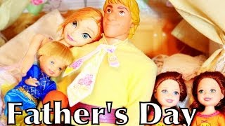 Frozen Happy Early FATHER'S DAY Kristoff Anna Barbie Toys Play-Doh AllToyCollector
