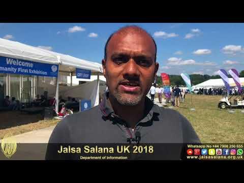 #JalsaVisitor: Waleed Nasir from Germany