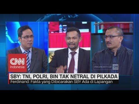 Sebut BIN Tak Netral, Boni: SBY Cerita Pengalaman 2009