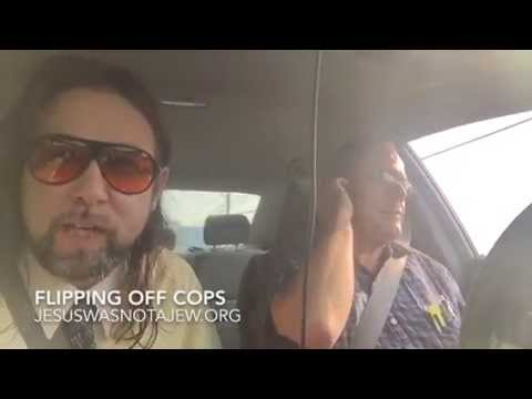 Pulled over for flipping off a Framingham, MA cop