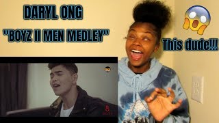 Daryl Ong - Boyz II Men Medley (REACTION) (IS HE SERIOUS!?)