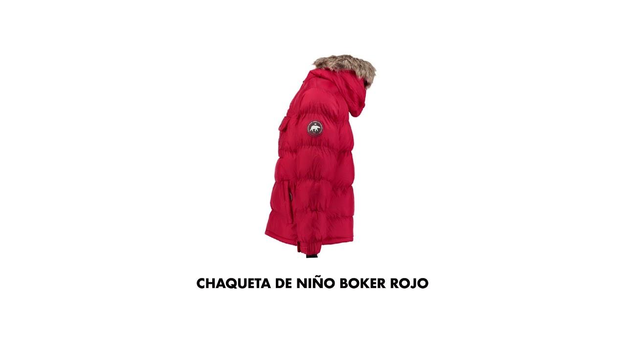 belleza estilo único En liquidación Chaqueta boker niño | Geographical Norway - YouTube