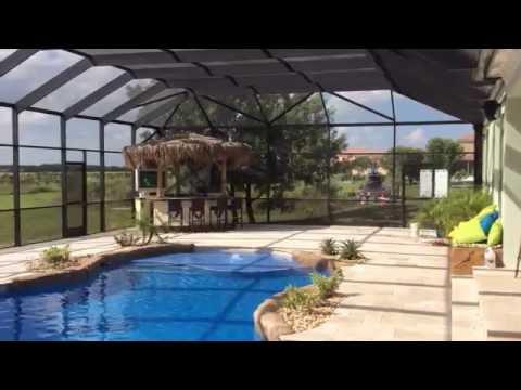 Aluminum Pool Screen Enclosure in Homestead, Florida - Venetian Builders