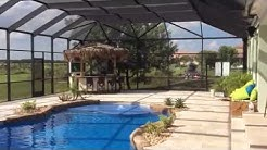 Aluminum Pool Screen Enclosure in Homestead, Florida - Venetian Builders