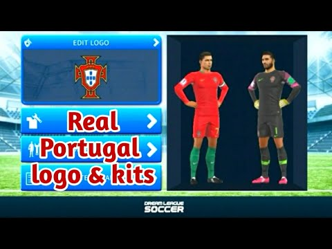 Top class How to create Real Portugal logo and kit | Dream League Soccer |  DREAM GAMEplay
