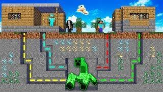 Minecraft NOOB vs PRO vs HACKER vs GOD : ADVENTURE MAZE TO CREEPER MUTANT BATTLE | Challenge!