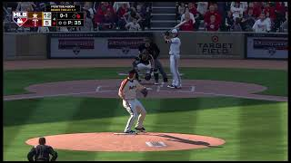 MLBThe Show 19 Astros vs. Twins 10/8/19 ALDS Game 3