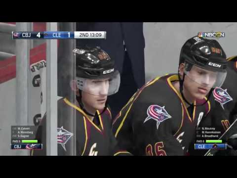 Blue Jackets vs. Monsters (10.20.16)