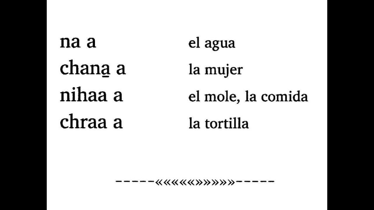 El Alfabeto del Triqui de Copala -01- Introducción y las 5